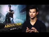 Taylor Lautner talks to Sugarscape about Abduction and getting his top off!