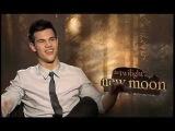The Twilight Saga New Moon - Taylor Lautner Interview