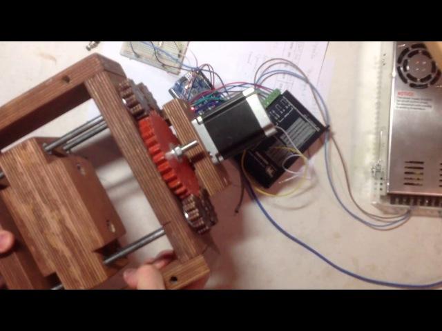CNC machine - ЧПУ станок своими руками - Часть 1