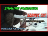 ЗИМНЯЯ РЫБАЛКА / ХАРИУС СИГ / РЫБАЛКА НА ПЕЧОРЕ / WINTER FISHING / GRAYLING, WHITEFISH