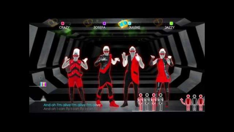 Just Dance 2014 Wii U Gameplay - Will.i.am ft. Justin Bieber: That Power
