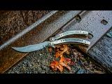 Making DAMASCUS CS:GO BUTTERFLY KNIFE Part 1