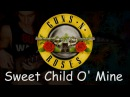 Guns N' Roses - Sweet Child O' Mine bass cover e:veryday play 106