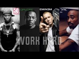 50 Cent - Work Hard (ft. Eminem &amp 2Pac &amp Dr Dre) (NEW 2017) by rCent Beat by Roma Beats