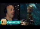 EXCLUSIVE The Secret Behind Vin Diesel's Groot Voice May Surprise You