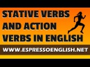 Stative Verbs Action Verbs and Verbs that can be both
