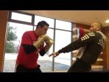 С чемпионом мира по профессиональному боксу Родионом Пастухом (левая)