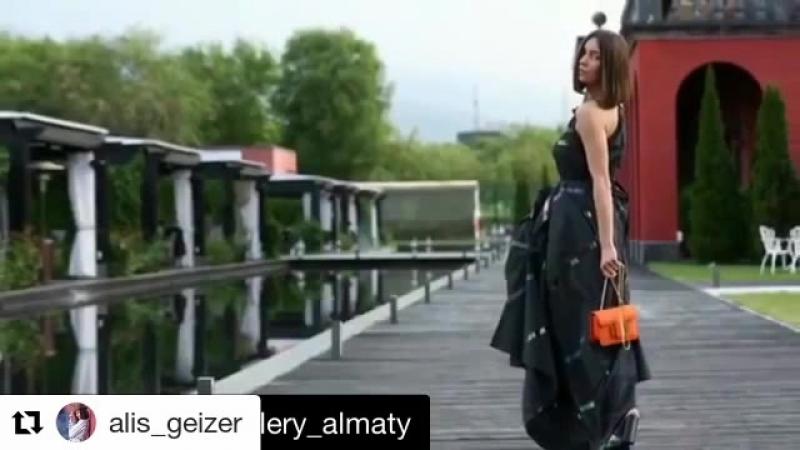Съемка для Fashion Gallery Almaty. Модель агентства Pro fashion