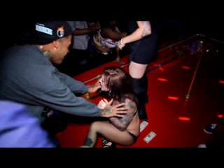 Strippers fighting @ David Cash Show @ Cheetahs Strip Club in Hollywood