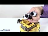 Видео для детей. Робот ВАЛЛИ и Космический Корабль из конструктора! Роботы Игрушки! Wall E