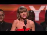 Taylor Swift's speech  - 58th GRAMMYs