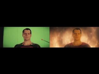 «Бэтмен против Супермена: На заре справедливости» (Batman v Superman: Dawn of Justice) - Создание спецэффектов