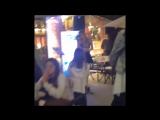 Clari cantando en la Taste Food Experience 2014 del CitiBank
