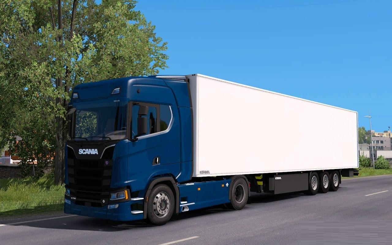 Грузовик Scania S730 New Generation 2017 v1.0
