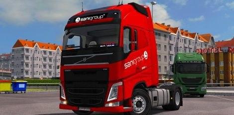 Скин пак Sani Group для Volvo FH 2012