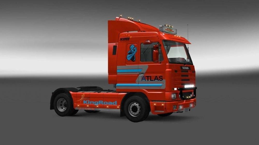 Скин Atlas для Scania 143M