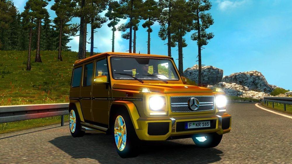 Автомобиль Mercedes Benz G Class