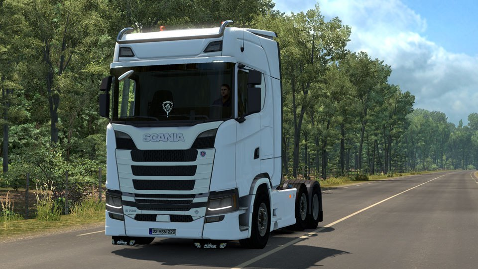 Грузовик Scania S730 v2.0