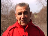 Начальник УГЗ г.Казани Ф.М. о паводковой ситуации в казанском поселке Салмачи.