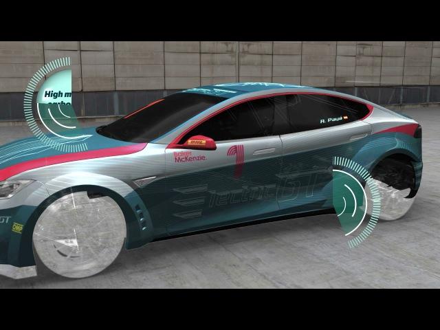 Tesla Model S P100DL Race Car Specifications