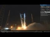 Ступень Falcon 9 вернулась на морскую платформу в Атлантическом океане