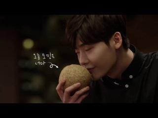 Lee Jong Suk модель сети кафе Gong Cha Korea (2016.10.24)