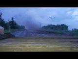 Война на Украине. Ожесточенный бой у блокпоста под Донецком 2016