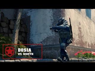 Gambit Dosia 4K vs North @ DreamHack Masters Las Vegas