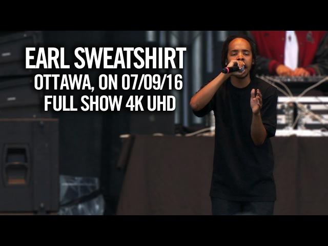 Earl Sweatshirt LIVE in Ottawa July 9, 2016   TheBootTube.com