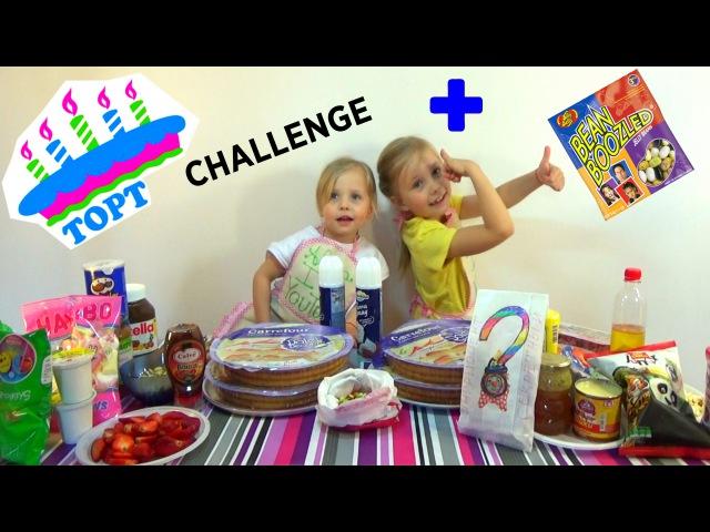 ТОРТ ЧЕЛЛЕНДЖ Cake Challenge от Nikol CrazyFamily ЧЕЛЛЕНДЖИ ДЕТСКИЙКАНАЛ ЮТУБ YouTube