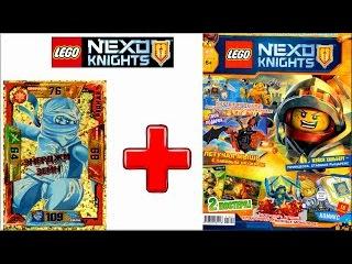 Nexo Knights LEGO Журнал. Смотреть видео про Лего Рыцари Нексо из мультика. Ninjago игра карта Зейн