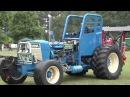 Необычные тракторы из прошлого, забавная техника