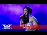 Saara Aalto lights up the stage with Sias Chandelier Semi-Final The X Factor UK 2016