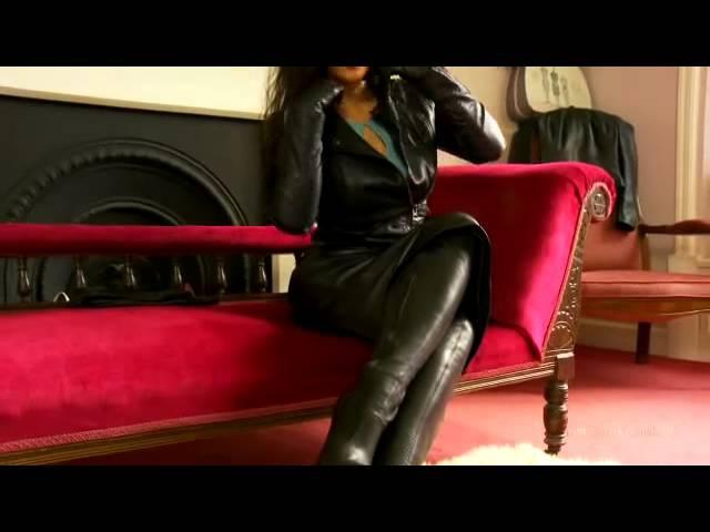 Leather fantasy 4 dominatrix annabelle
