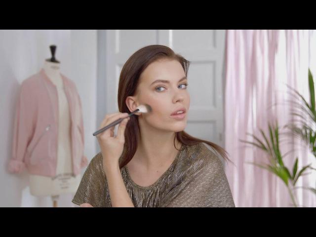 Видеоурок красоты: Пудра в шариках. Три приема