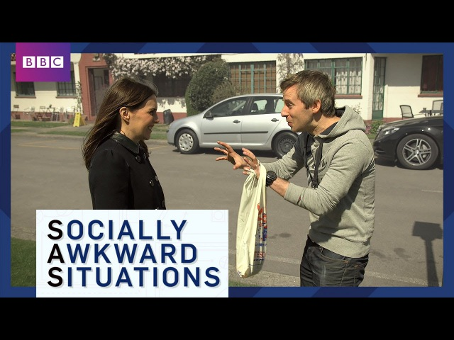 What To Do When You See An Ex - Socially Awkward Situations - BBC Brit