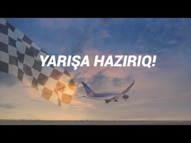 Azerbaijan Airlines - Yarışa Hazırıq!