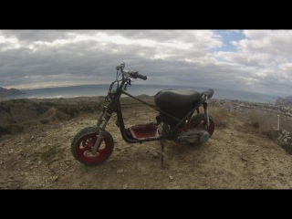 Scooter offroad challenge