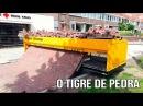 Tique de Pedra - Máquina de fazer calçada e estradas (Tiger Stone)