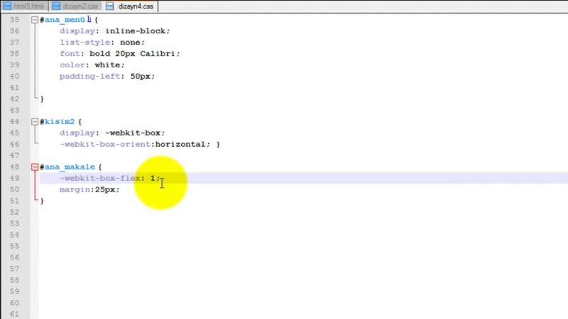 Yakın Kampüs - HTML5CSS3 Ders 10 - Esnek Kutu (Flexible Box) Yöntemi - Kısım 2