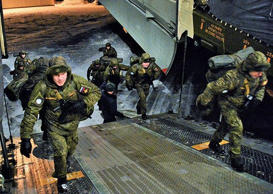 Российские саперы вылетели в Сирию (видео)