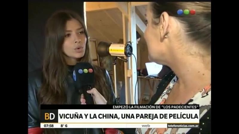 La China Suárez y Nico Francella hablan sobre Los Padecientes – Telefe Noticias