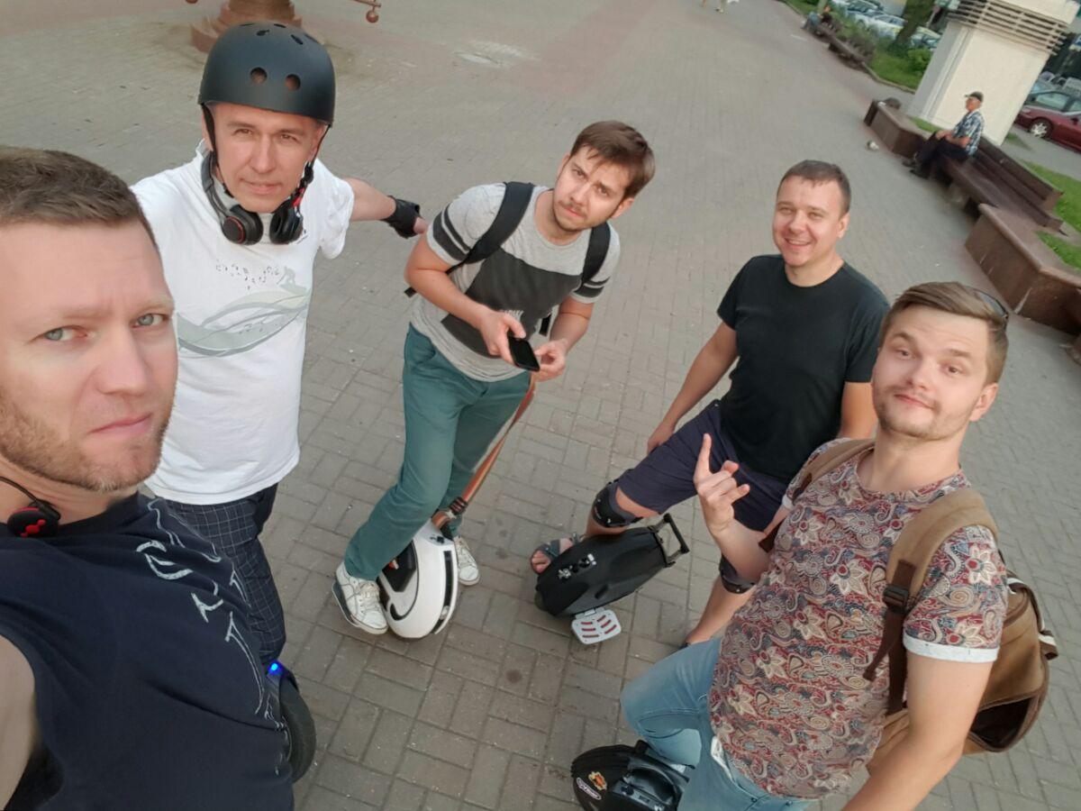 Перепись монокатчиков (моноколесников) Минска (и окрестностей)