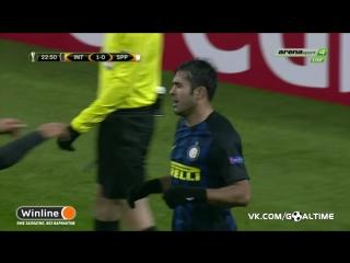 Интер - Спарта Прага 1:0. Эдер