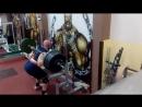 Даниель Грабовски - присед 310 кг на 5 повторов
