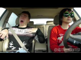 Christmas Car Ride with Motoki