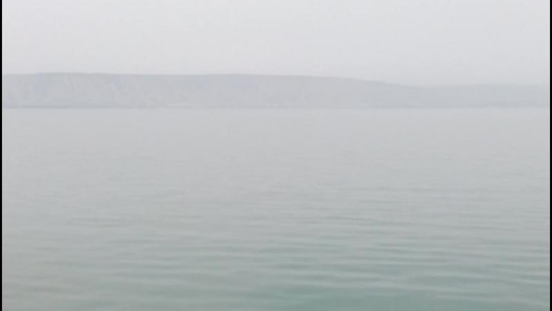 На корабле в Галилейском море(Тивериадском озере)