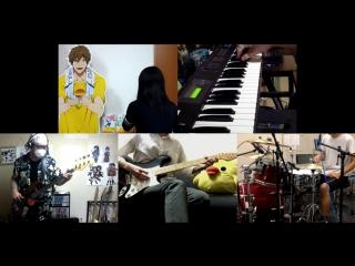 Battery (ED) - Ashita Haru ga Kitara - Band cover