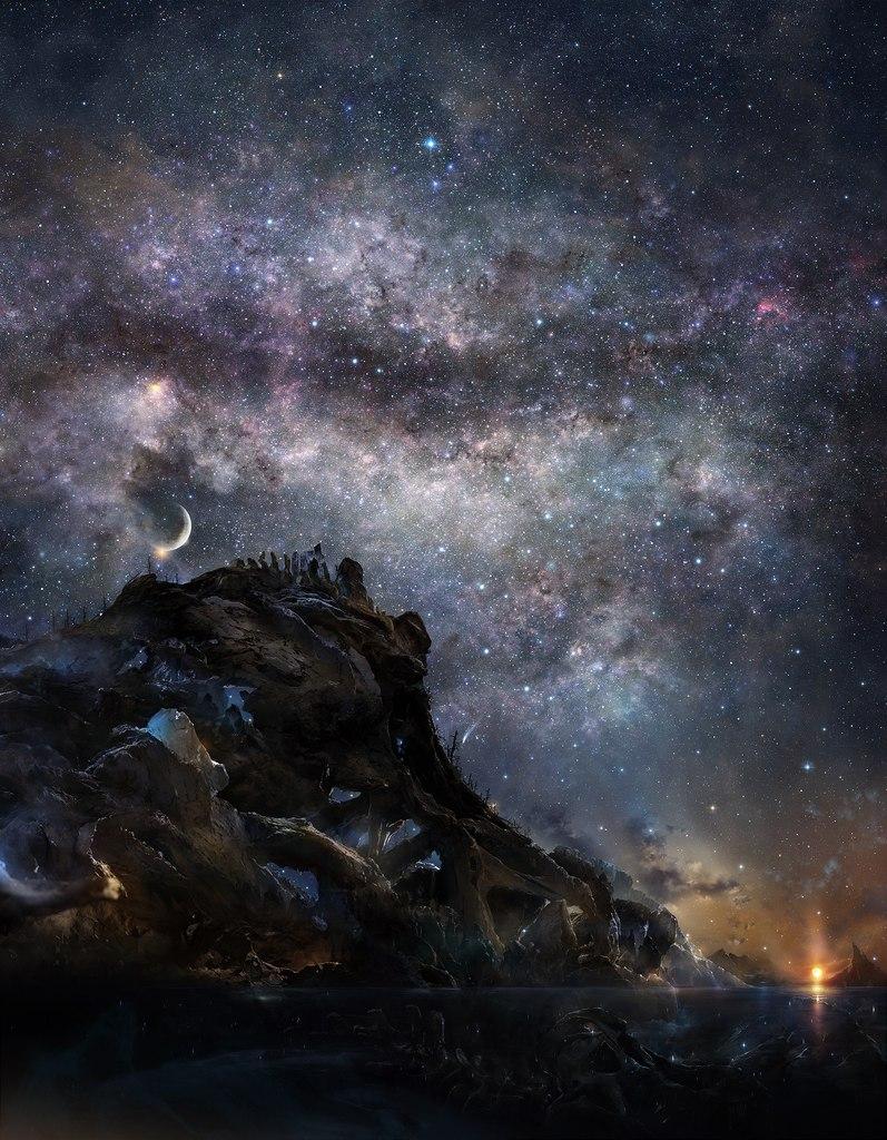 Звёздное небо и космос в картинках - Страница 4 -CcRVU_YvIY