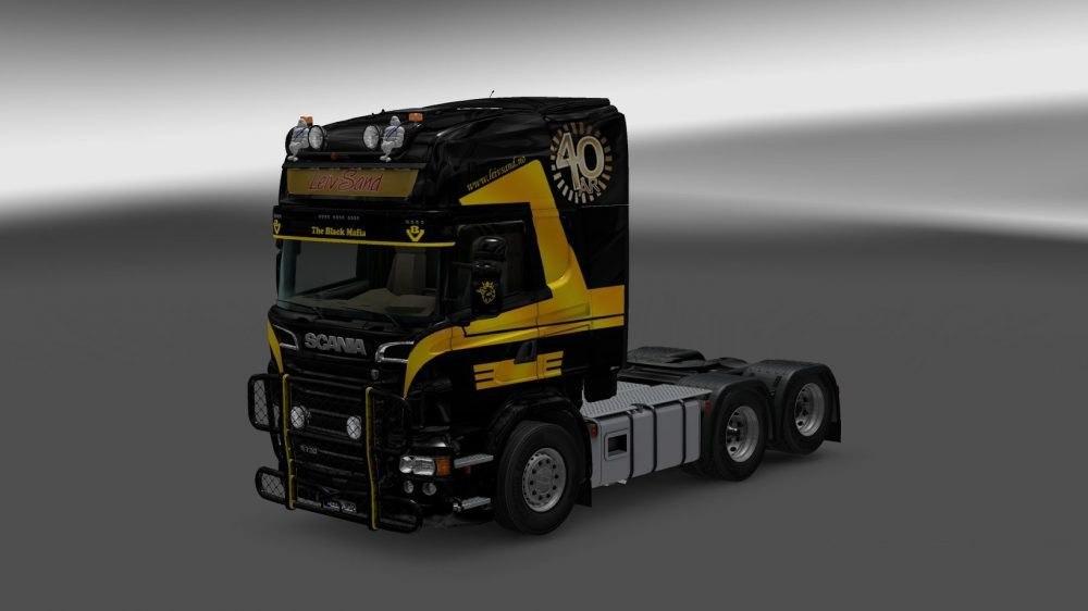Скин пак Leiv Sand для Scania RS RJL